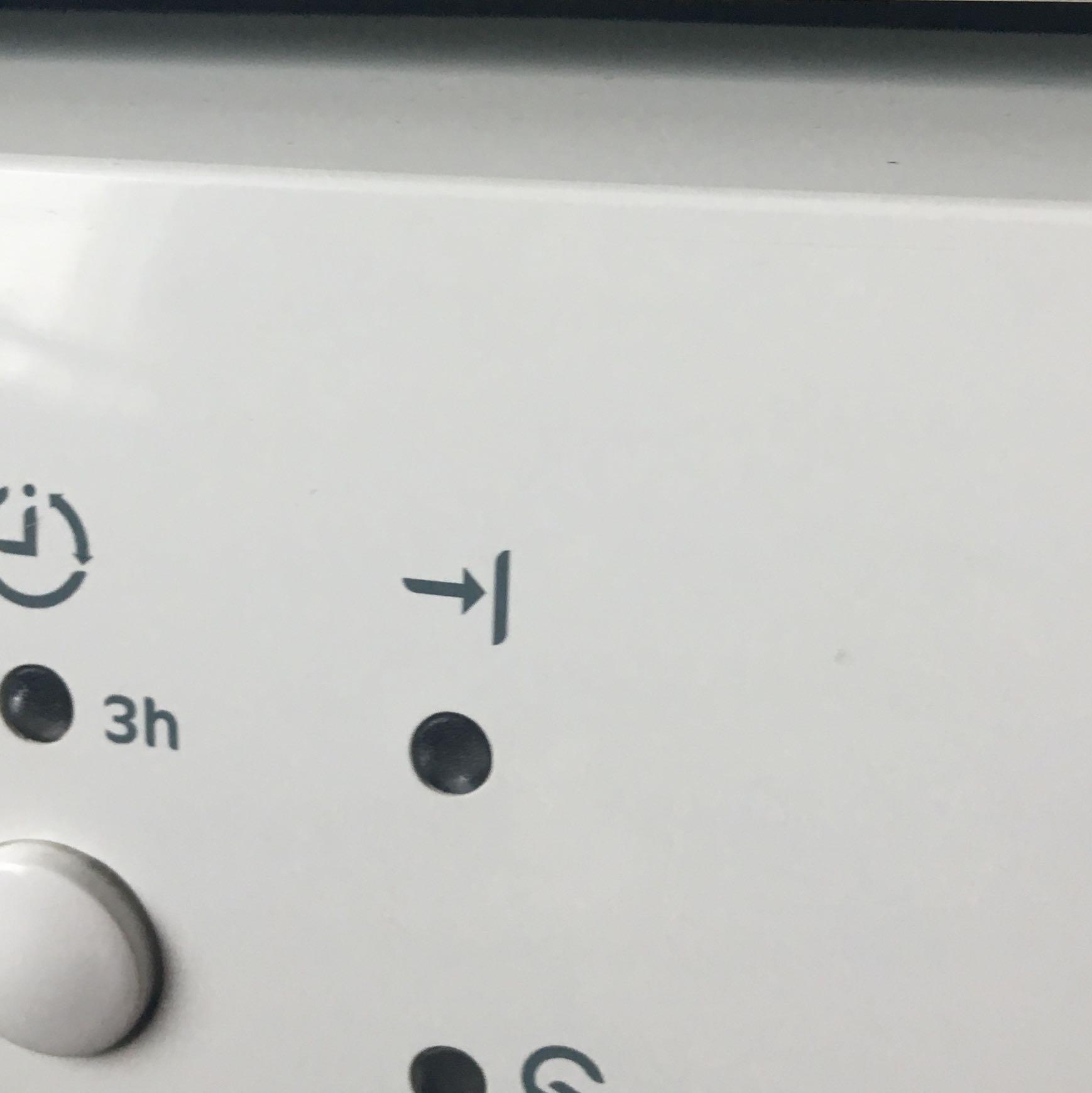 Hilfe was bedeutet dieses Zeichen von der Spülmaschine