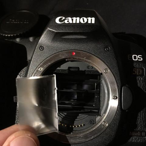 ...herausgefallen. - (Canon, Spiegel, MK2)