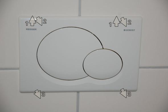 Hilfe! Was stimmt mit der Klospülung nicht? Alternativ mit Eimer spülen?