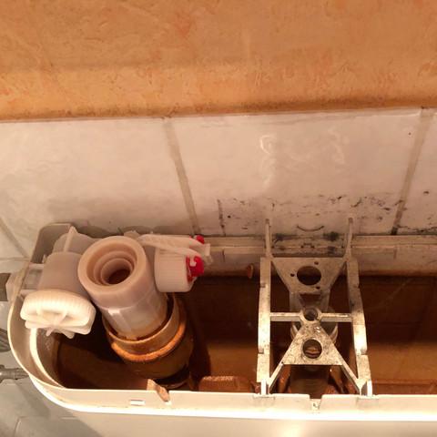 Relativ Hilfe! Wasser im Klo läuft nach? (defekt, WC, spuelung) TZ69