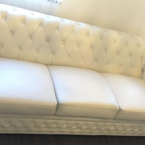 Hilfe Weiße Kunstleder Couch Wieder Sauber Bekommen