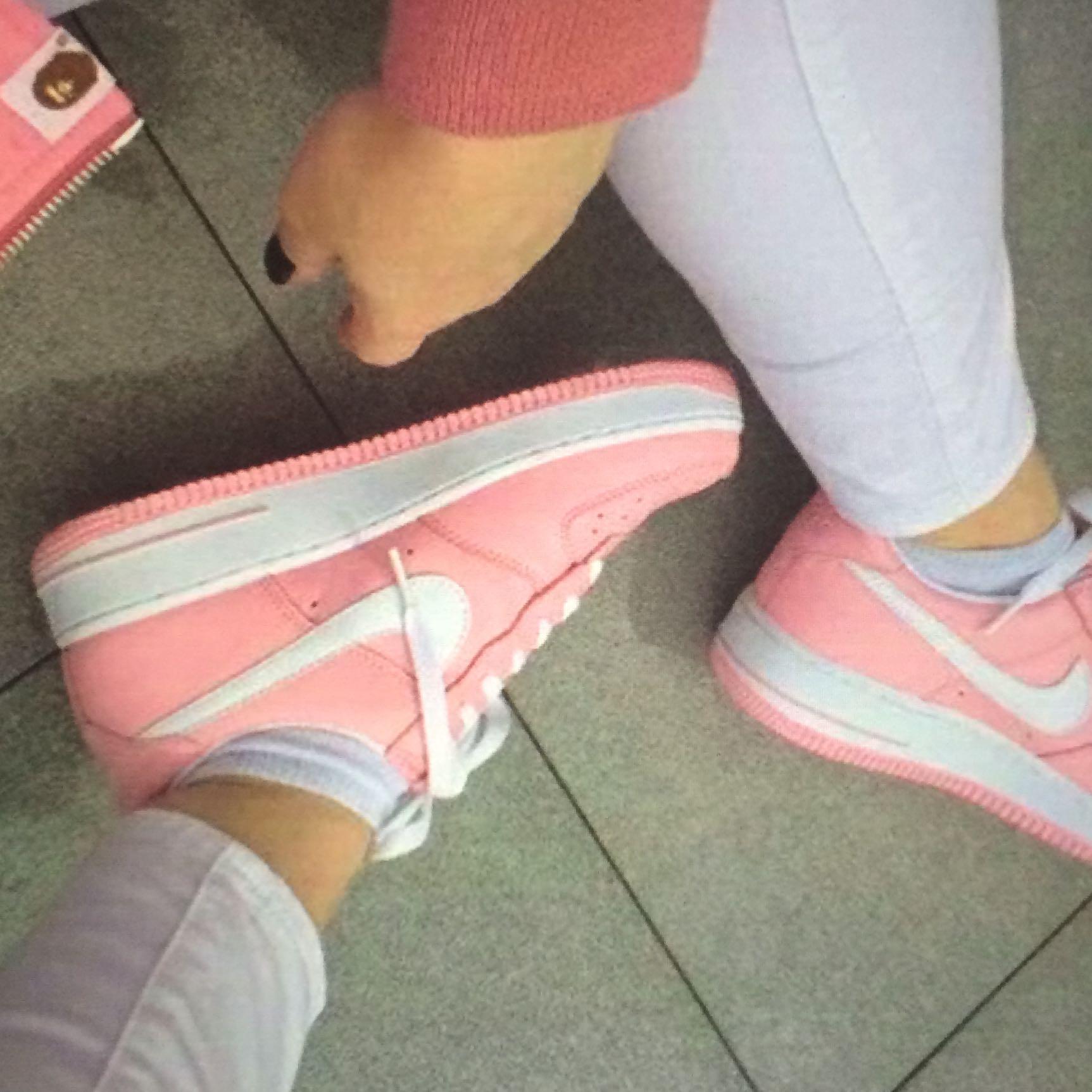 Air Force Weiß Pink