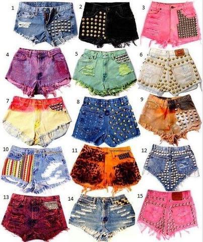 short nr. 2  - (selber machen, Shorts)