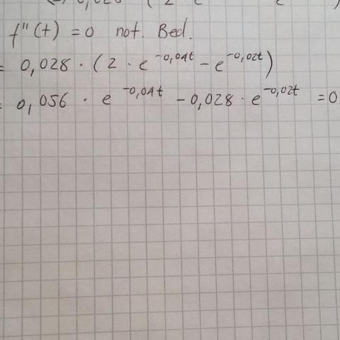 Foto von der Aufgabe - (Mathe, Mathematik, Abitur)