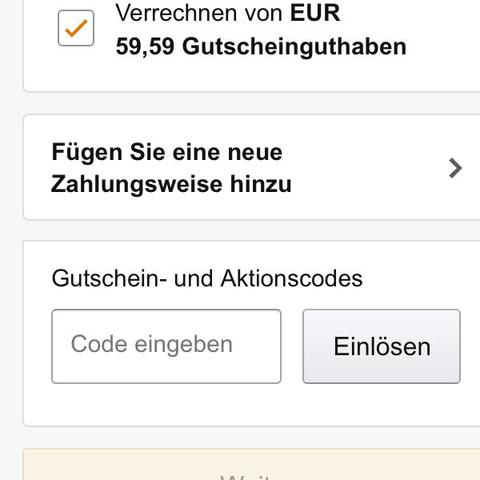 Hmmm  - (Amazon, Gutschein)