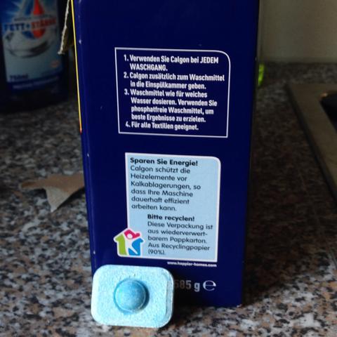 Calgon Tab  - (Haushalt, Waschmaschine, Rat)