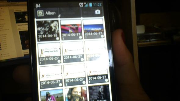 So schaut das auf meinem Handy aus! Wie geht das weg?? - (Youtube, Bilder)