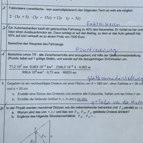 Die Aufgabe 4.. - (Mathematik, einheiten, Gleitkommadarstellung)