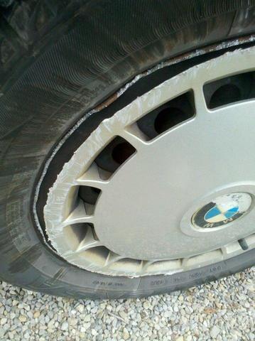 Felge rechts hinten - (Auto, BMW, fahrzeug)