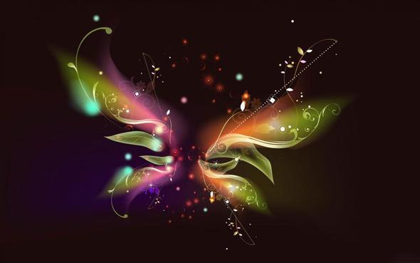 Butterfly - (Bilder, Hintergrund)