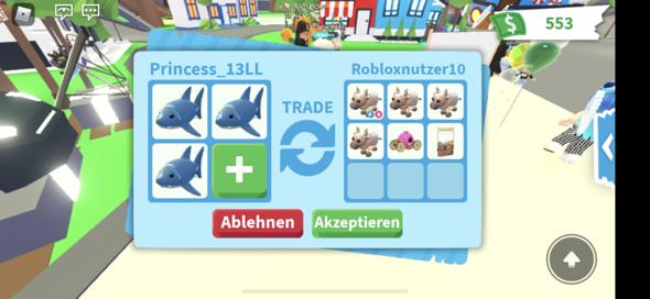 Hi,soll ich diesen Trade in Adopt Me machen?