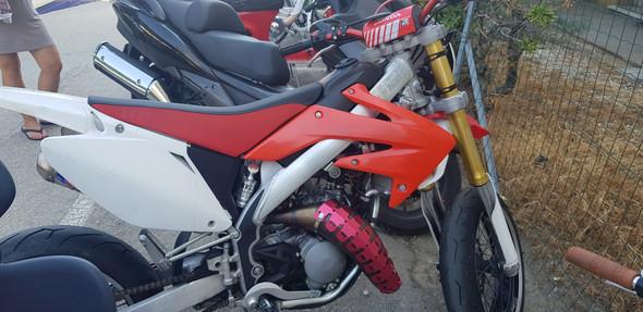 Hm Crm 125ccm Unglaubliches Moped / Hm Moto Händler?