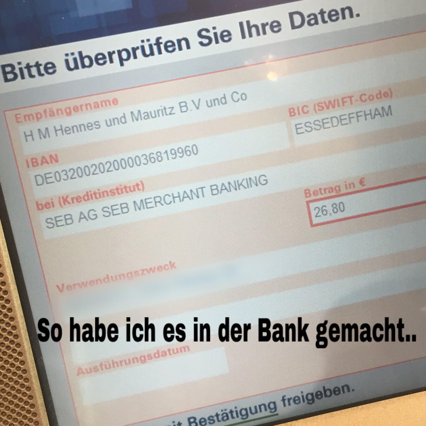 H M Rechnung : h m rechnung berweisung falsch oder richtig hundm hennes und mauritz ~ Themetempest.com Abrechnung