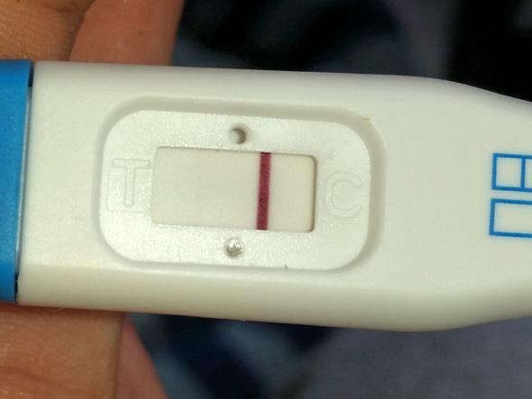 Schwangerschaftstest 2 mal benutzen