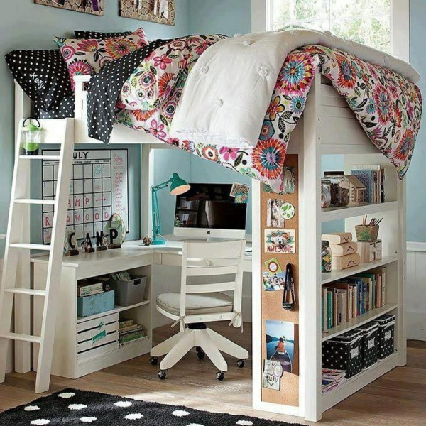 Jugendzimmer ikea hochbett  Hochbett auf dem Bild, woher?! (Bett, jugendzimmer)