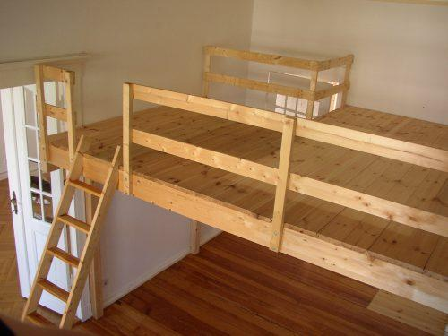 Etagenbett Eingebaut : Hochbett bauen lassen kosten