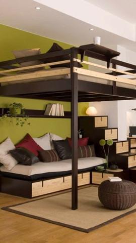 hochbett f r erwachsene kann mir jemand mit tipps helfen. Black Bedroom Furniture Sets. Home Design Ideas