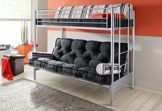 hochbett mit sofa. Black Bedroom Furniture Sets. Home Design Ideas