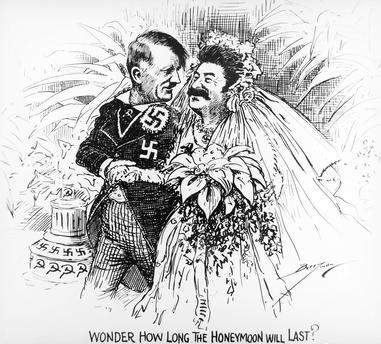 Hochzeit von Hitler und Stalin? (Geschichte)