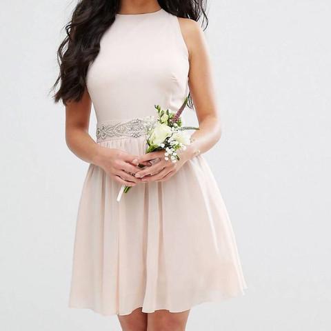 Hochzeitsgast Rosa Kleid Madchen Hochzeit