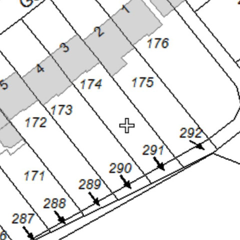 Lageplan - (Grundstück, Grundbuchauszug, Katasteramt)