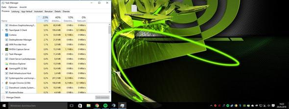 Desktop  - (cpu, prozess, auslastung)