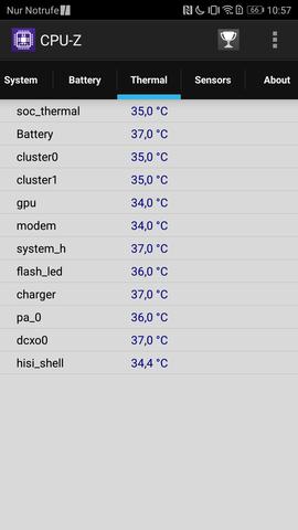 Handy Temperatur