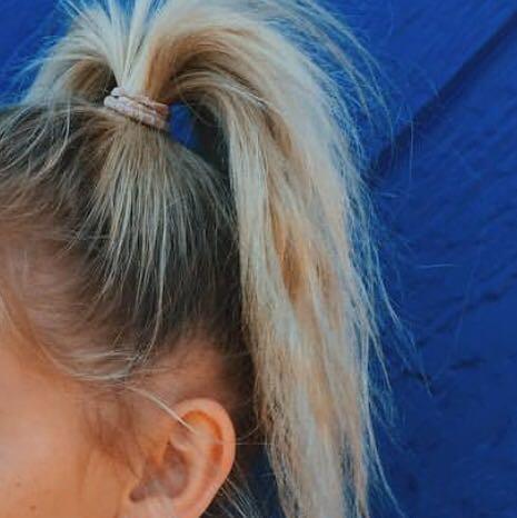Lange Haare Hoher Zopf Mittellange Haare