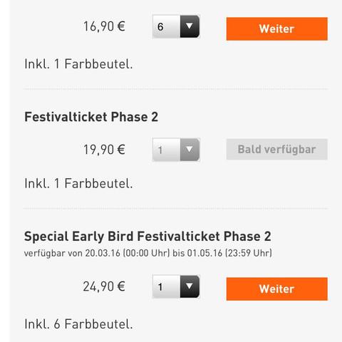 Hier das Bild zu den Tickets , welche man kaufen kann   - (kaufen, Farbe, Ticket)