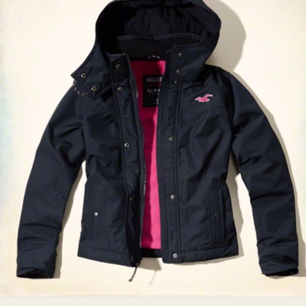 hollister all weather jacket f r winter meinung. Black Bedroom Furniture Sets. Home Design Ideas