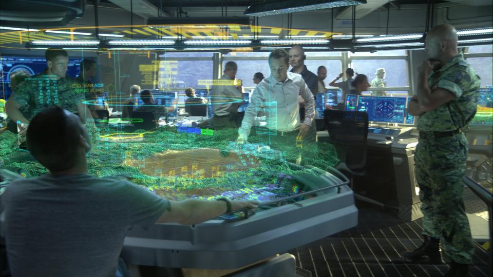 Hologramm Zum Anfassen Technik