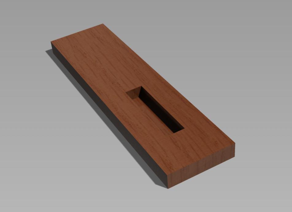 holz bearbeiten rechteckige vertiefung handwerk fr sen. Black Bedroom Furniture Sets. Home Design Ideas