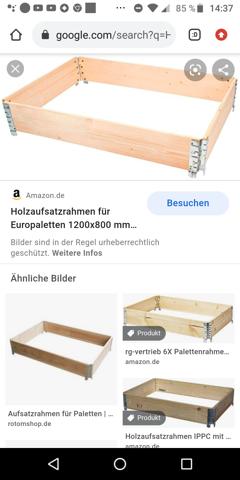 Holzaufsatzrahmen?