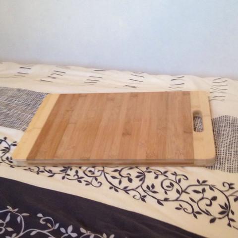 Das Brett was ich gekauft habe. - (Holz, Geruch, Bambus)
