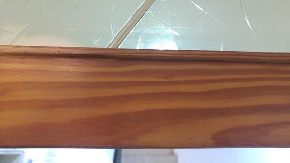 Holzrahmen Streichen Farbe Holz