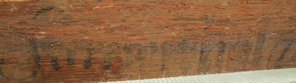 Bild 2 - (Holz, Schrift, Antiquitäten)