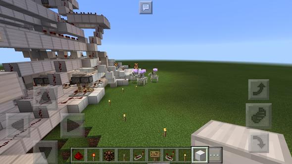 Maschine mit Skelettpferden - (Minecraft, Horror)