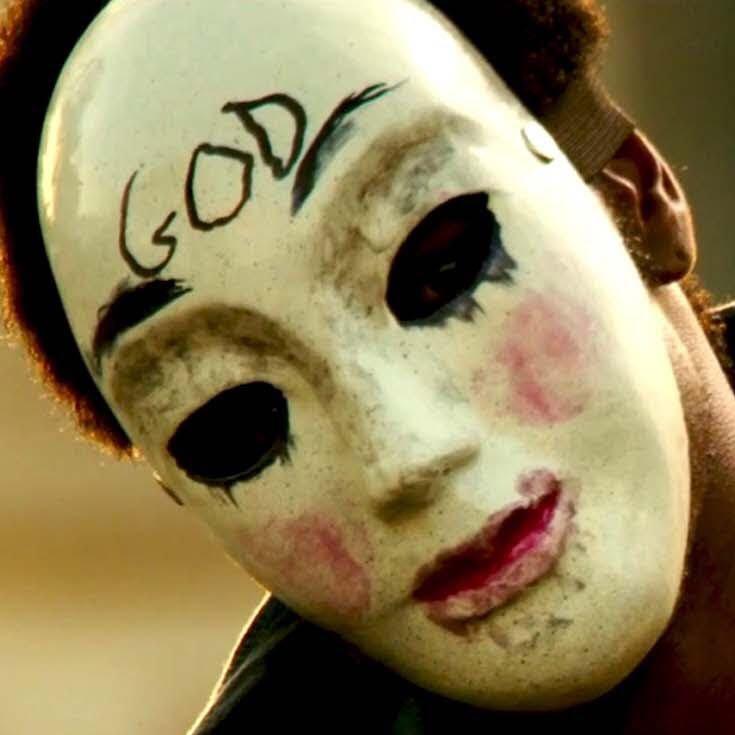 horrormasken wie bei the purge 2 kaufen wo halloween maske. Black Bedroom Furniture Sets. Home Design Ideas