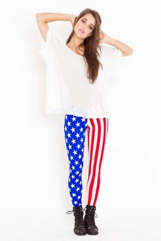 Usa Leggings - (Reise, USA Style, USA Hose)