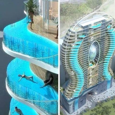 Hotel mit Pool im Zimmer?