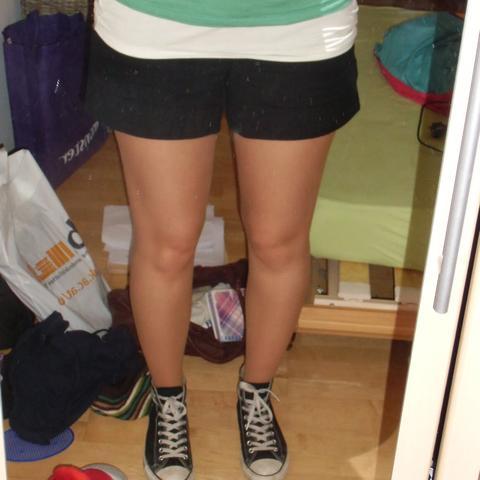 kurze shorts und strumpfhose sex