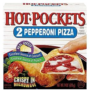 - (essen, HotPockets)