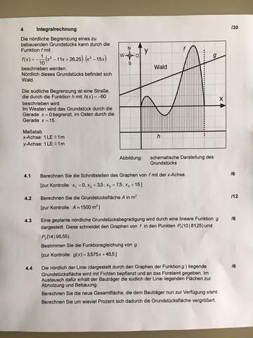 how to integral textaufgabe schule mathe mathematik. Black Bedroom Furniture Sets. Home Design Ideas