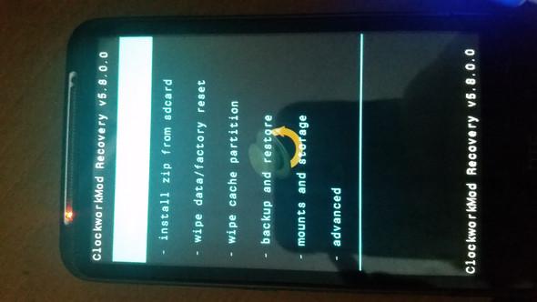 Bildschirm - (Betriebssystem, HTC Desire HD)