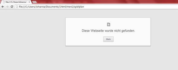fehlermeldung - (Computer, programmieren, Website)