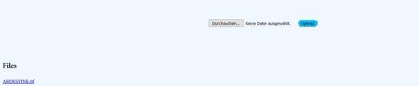 Upload - (html, Code)