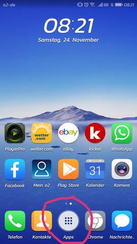 Huawei P10 Apps Symbol ändern Android Smartphone App