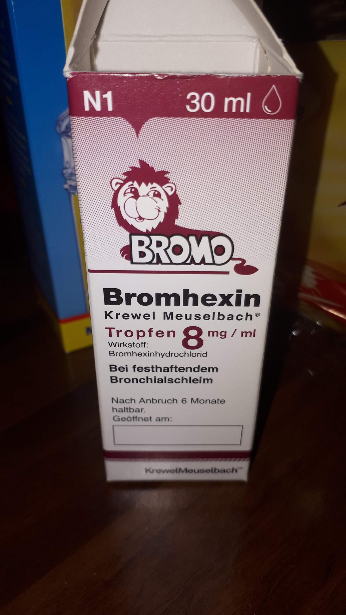 Brochicum BRONCHICUM Tropfen