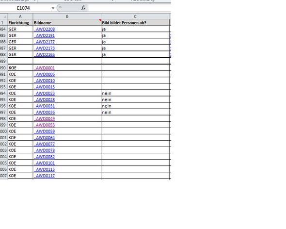 das problem - (Excel, Hyperlink)