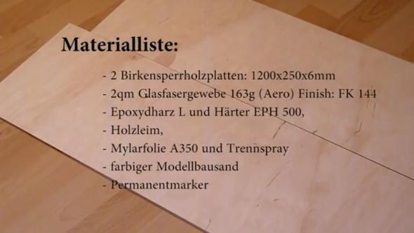 von einem Video auf Youtube wo jemand erklärt wie man ein Longboard! :D - (longboard, longboard selbstbauen)